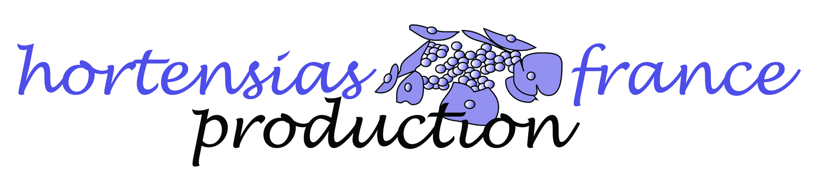 Logo hortensias production